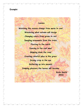 Part of Speech Poetry