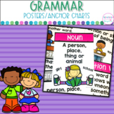 Grammar Posters- Colorful Anchor Charts