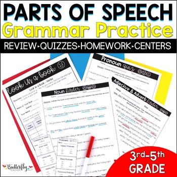 Part of Speech Practice Bundle