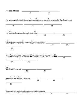 Part of Speech Test