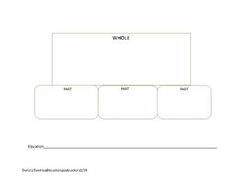 Part,part,part whole work mat