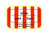 Part, part, whole flash card 1-10