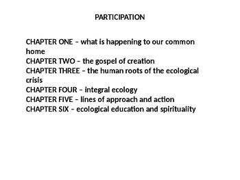 Partecipation according Catholic Social Teaching