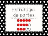 Partes - Math Worksheet in Spanish!