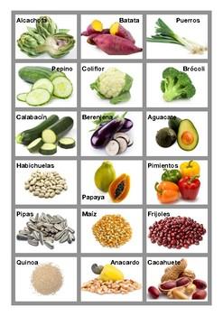 Partes comestibles de plantas