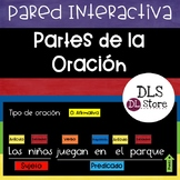 Partes de la Oración - Pared Interactiva