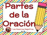Partes de la Oración (Parts of Speech) Spanish/español