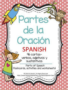 Partes de la Oración - SPANISH Parts of Speech