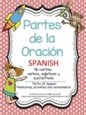 Partes de la Oración - SPANISH Parts of Speech