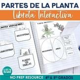 Partes de la Planta Libreta Interactiva