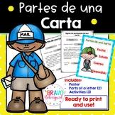 Partes de una carta - Spanish