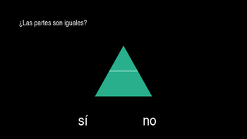 Partes iguales- Fractions