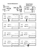 Partial Product Method, Multiplication, Standard Algorithm, Differentiation