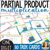 Partial Product Multiplication Task Cards