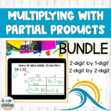 Multiplication with Partial Products BUNDLE