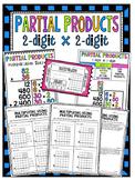Partial Products ~ 2-Digit by 2-Digit Bundle