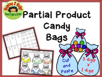 Partial Products - 3 digit x 1 digit multiplication