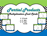 Partial Products (Expanded Algorithm) Task Cards
