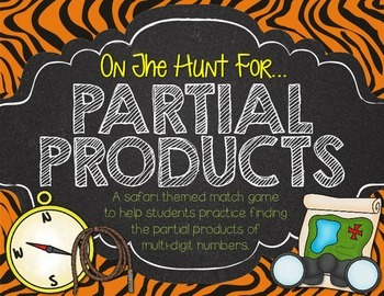 Partial Products Hunt