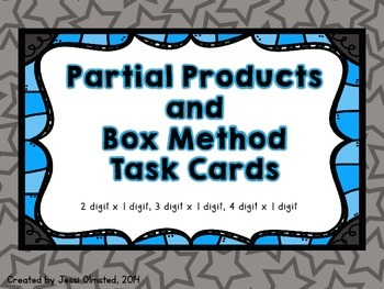 Partial Products and Box Method/Array Model Multiplication