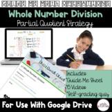 Partial Quotient Whole Number Division Video Lesson