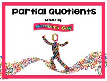 Partial Quotients 1 (Part of Division Unit)