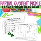 Partial Quotients Pickle - A single digit long division game