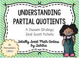 Partial Quotients- a Division Strategy Seat Scoot Activity