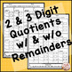 Division Worksheets | Practice and Assessment