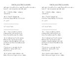 Partial Quotients notebook sheet