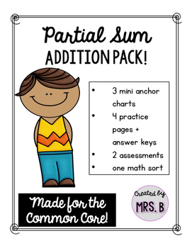Partial Sum Addition Pack