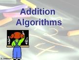 Partial Sums Algorithm Tutorial PowerPoint