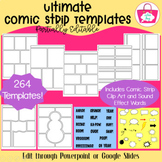 Partially Editable Comic Strip Templates - The Ultimate Bundle