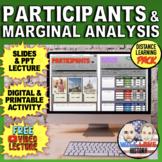 Participants and Marginal Analysis Bundle