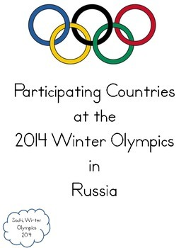 Flags of the 2014 Winter Olympics