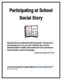 Participating at School Social Story