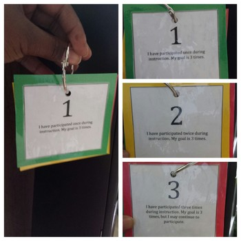 Participation Cards
