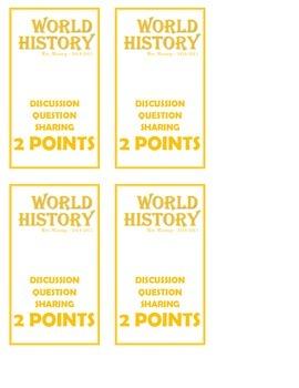 Participation Cards