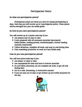 Participation Points