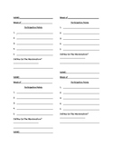 Participation Tracker (Rubric)