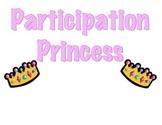 Participation Prince and Princess