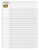 Participation Prince/Princess Chart