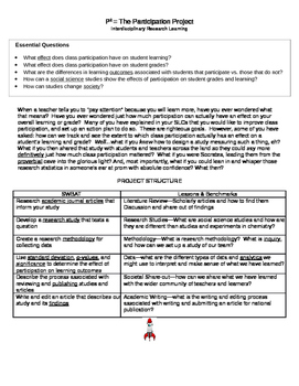 Participation Project