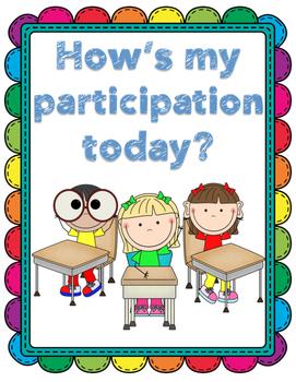 Participation Rubric Student-Friendly