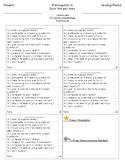 Participation Rubric per subject