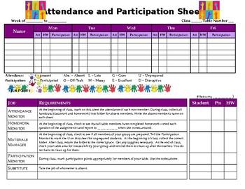 Participation Tracker