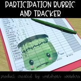 Participation rubric and tracking sheets for the year and more!