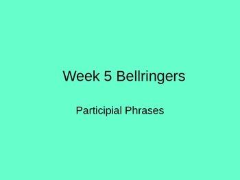 Participial Phrases Brush Strokes