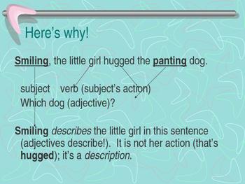 Participles PowerPoint