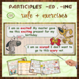 Participles -ed and -ing
